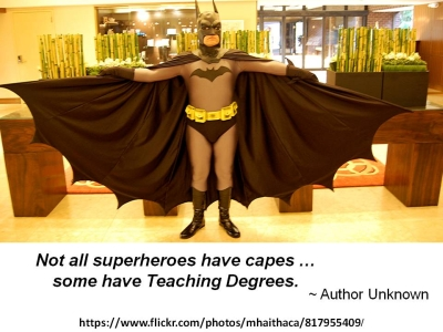 Teacher as Superhero - 400 x 300