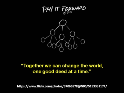 Teacher Feature #50 - Pay It Forward - 400x300